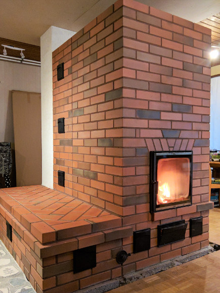 Puhasvuukkompleks – ahi, pliit,soojamüür ja leso